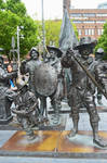 The Night Watch By Day In Bronze, Rembrandstplein