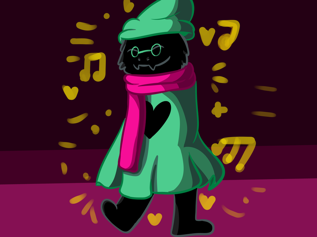 Ralsei From Deltarune by Redy100