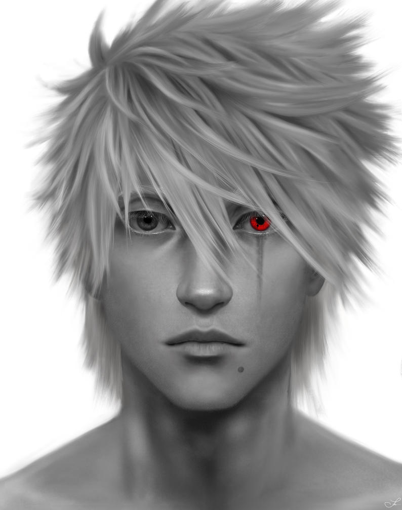 Kakashi portrait by an10ta
