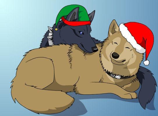 Wolf's Rain Christmas by Adult-Swim-Club