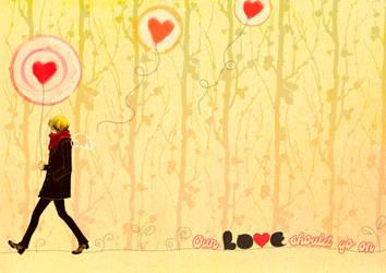 Jonghyun - Love should go on - by aaaarghhhhhhh