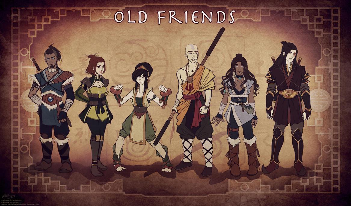 Older Gaang - Line 'em Up! by Matereya