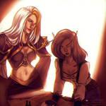 Commission - Jaina and Vereesa