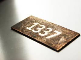 1337 circuit board by Treelz