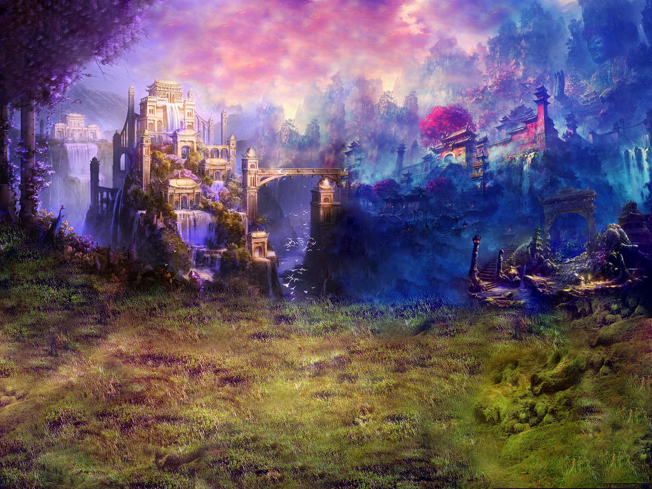 fantasy places wallpapers hd by 100csilla on deviantart