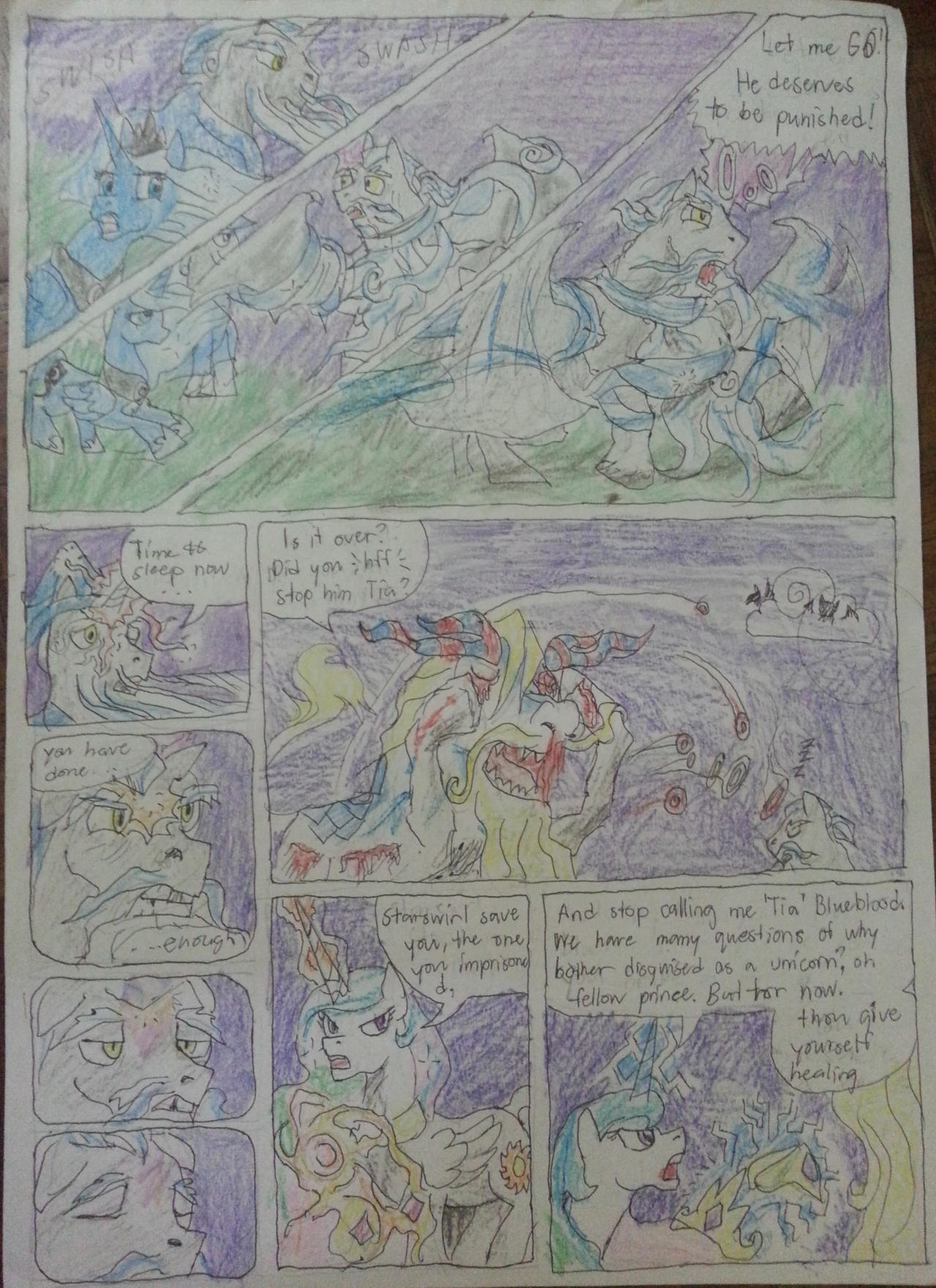mlp tales of Regal sisters chap3 pg4 by dragon0693