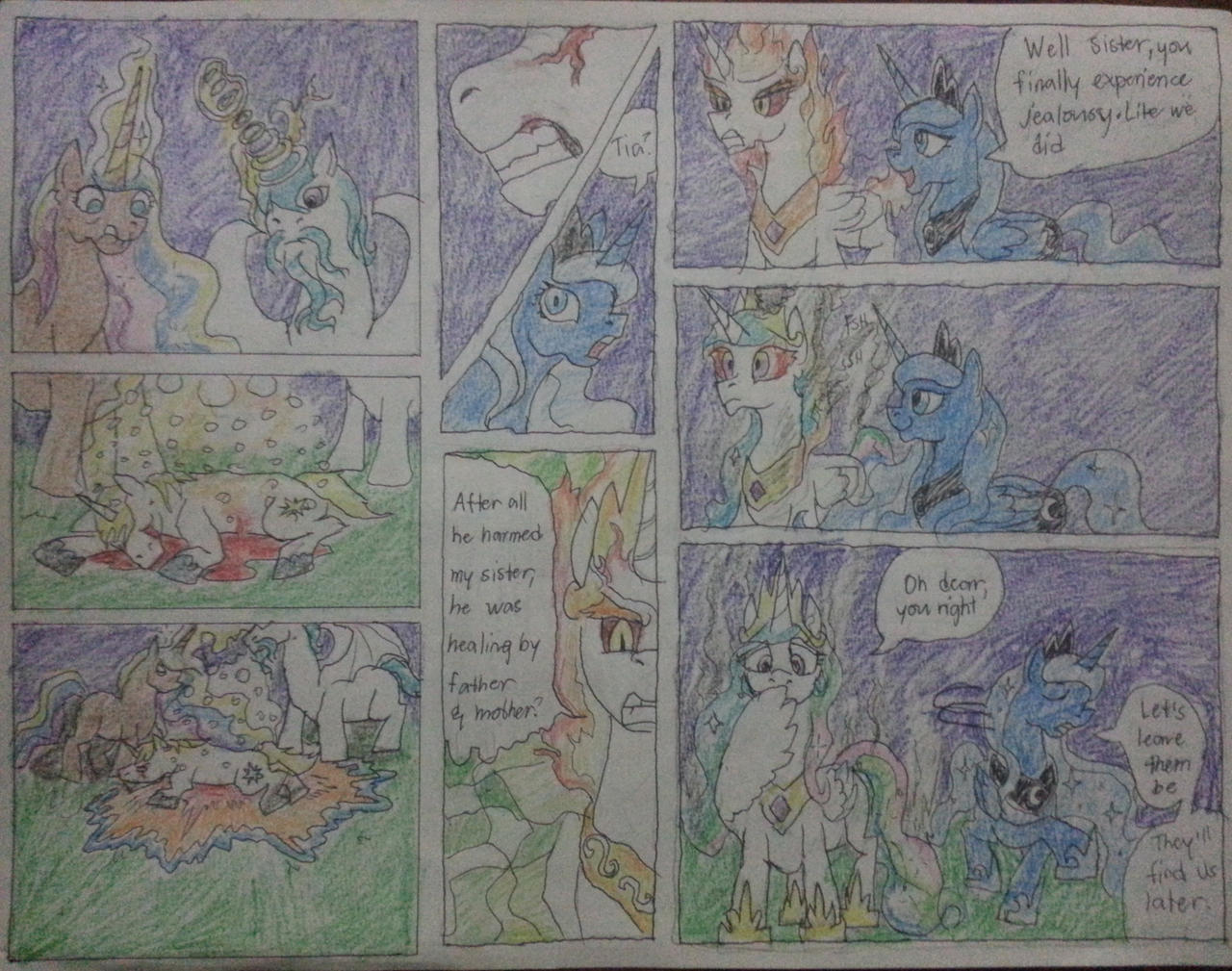 mlp tales of Regal sisters chap3 pg6 by dragon0693