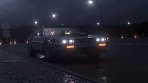 DeLorean DMC-12 (Back to the future)