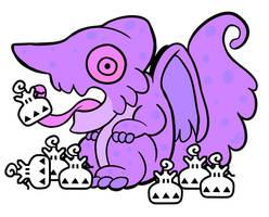 Chameleos's Horde of Lifepowders by Bariumfox