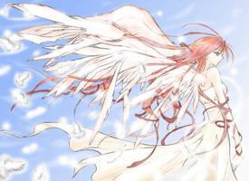 Pretty Angel. by InvaderGed