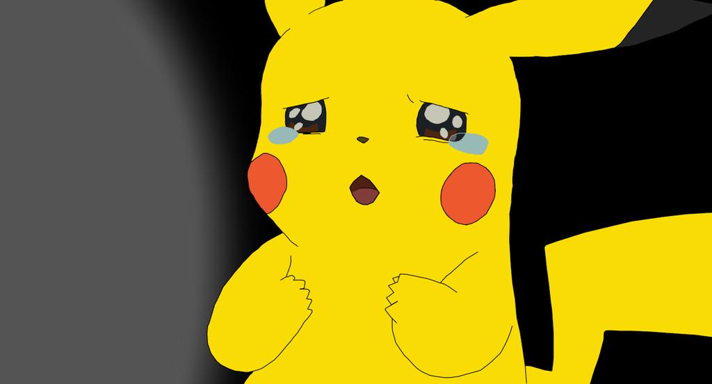 pikachu sad by fox9er on deviantart