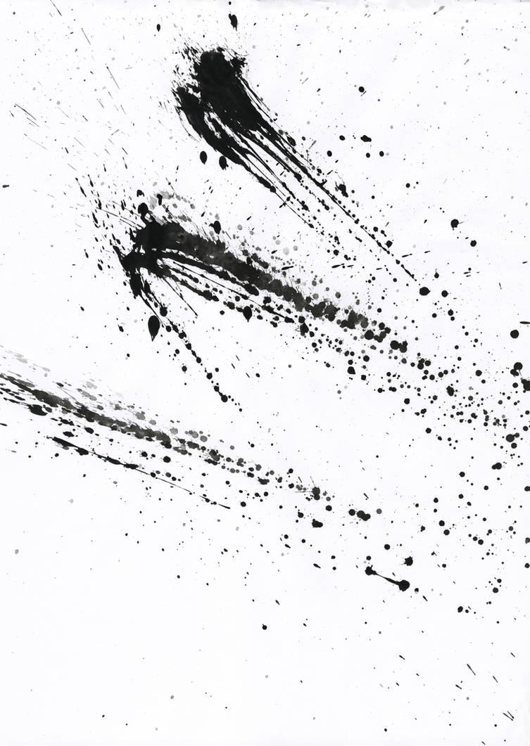 Ink Splatter 01 by Loadus