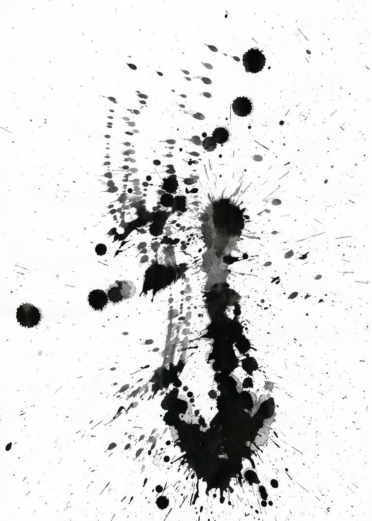 Ink Splatter 02 by Loadus