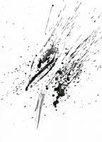 Ink Splatter 10 by Loadus