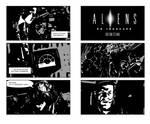 Aliens Comic proof of concept