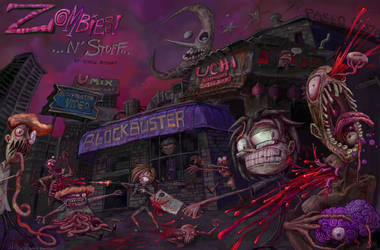 Zombies! ...N' Stuff by sugarpolyp