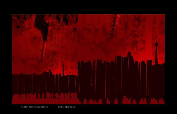 Gun Violence Poster 2 by depthskins