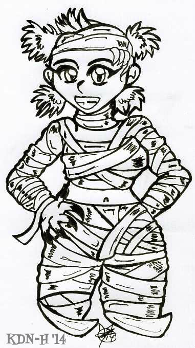 Mummygirl by catcubus