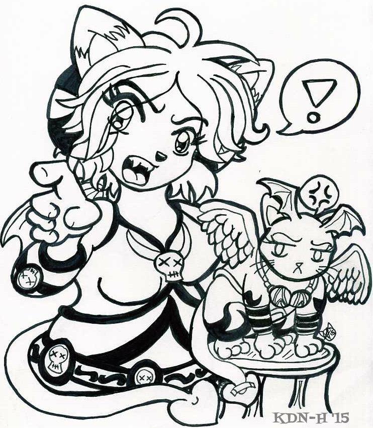 [Doodle] Plz send halp part 3 by catcubus