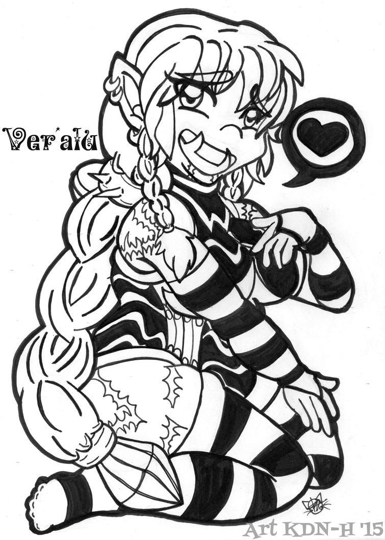 [Warcraft]  Vera's Stockings by catcubus