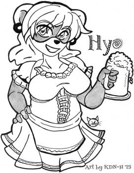 [Commission] Hyo the Barmaid