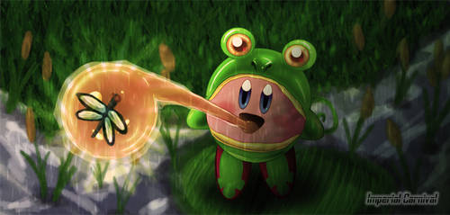 Frog Kirby by ImperialCarnival
