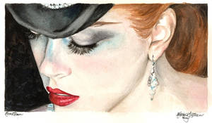 Nicole Kidman 1 watercolor