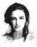 Natalie Portman 6 black ink by Ethan-Carl