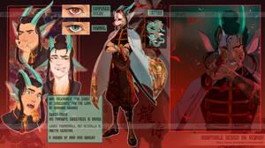 [CLOSED] ADOPTABLE - The dragon samurai