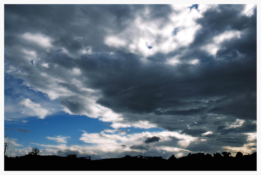 Landscape celestial Analogical by UomoAnalogico