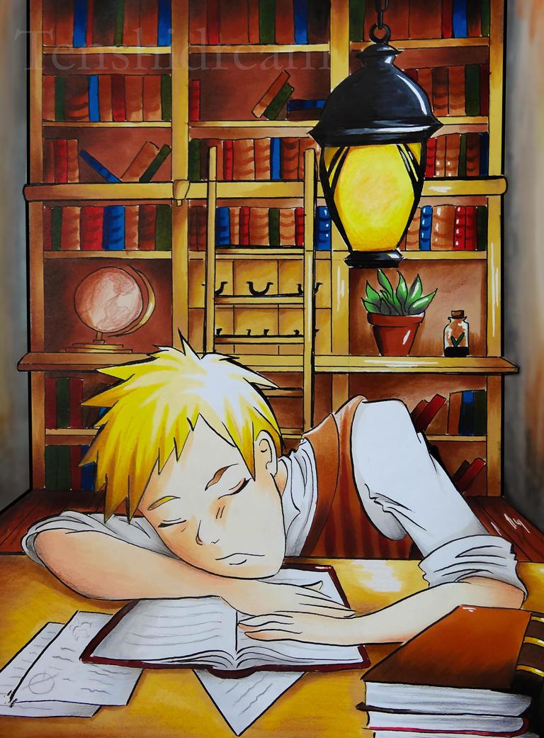 Sleeping by Tenshidream