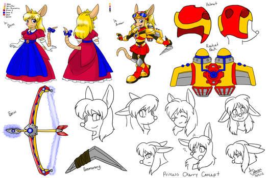 Commission- Princess Cherry Concept