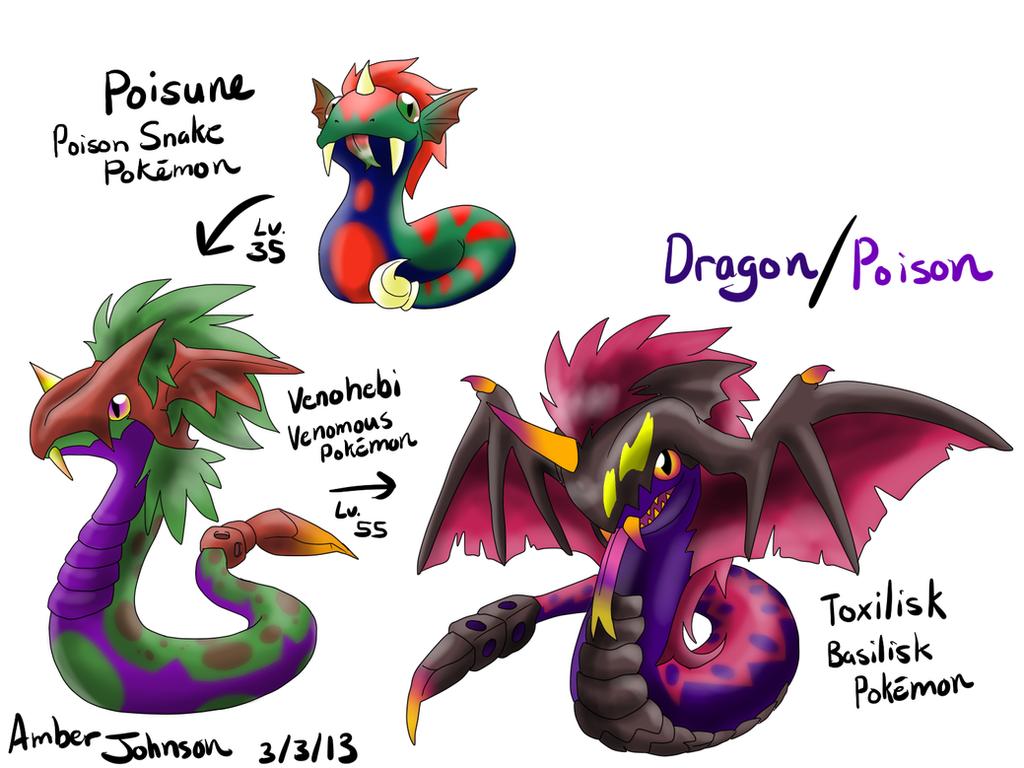 Uncategorized Poison Type fakemon dragon poison type by kohakukun19 on deviantart kohakukun19