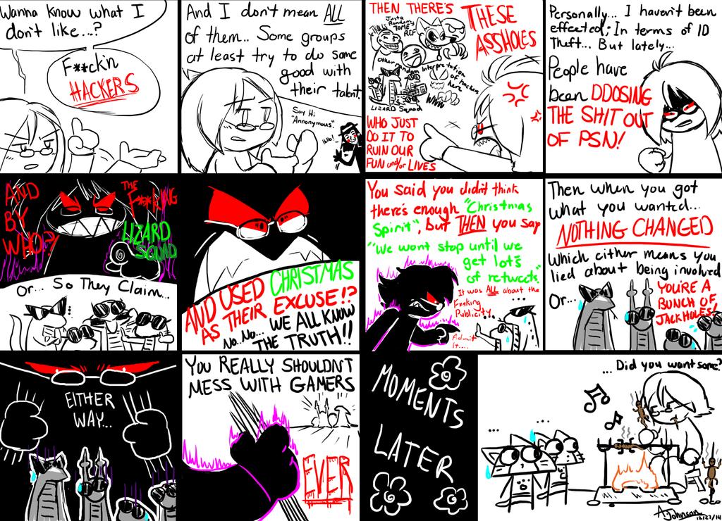 Angry Kohaku Comic 1- Hackers by KohakuKun19