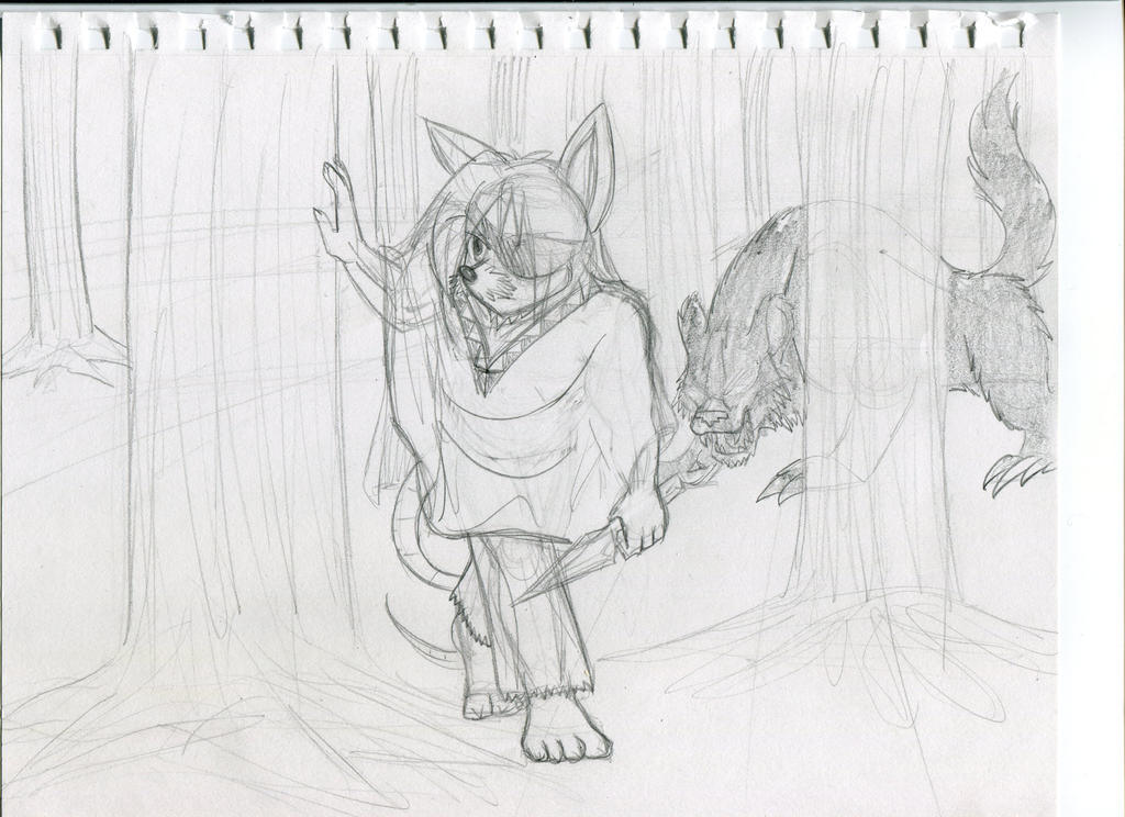 Kohaku's Sketch Book - Trials of the Wilderness by KohakuKun19
