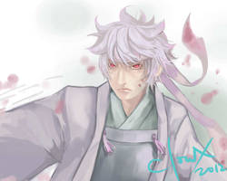 Gintoki by clowx