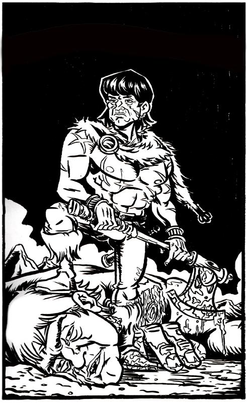 Barbarian by Brian-Evinou