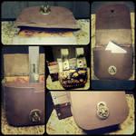 steampunk belt pouch