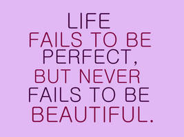 Life fails to be perfect... by RavensRain98