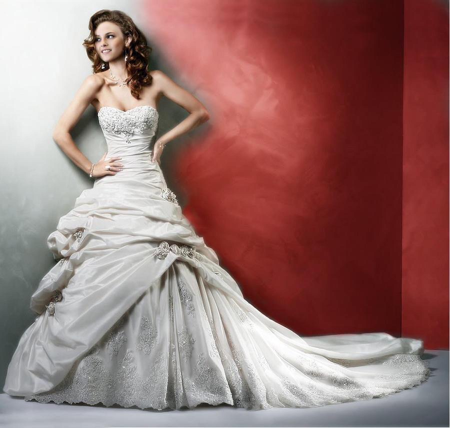 Bella swan wedding dress by becca678 on deviantart for Bella swan wedding dress