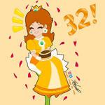 princess daisy 32nd anniversary