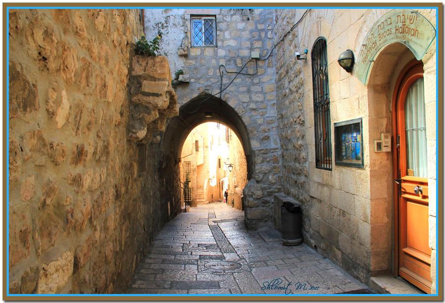 Jerusalem ,the old city by ShlomitMessica