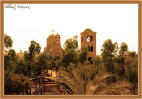 Church on the Jordan River by ShlomitMessica