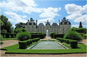 Chateau de Cheverny by ShlomitMessica