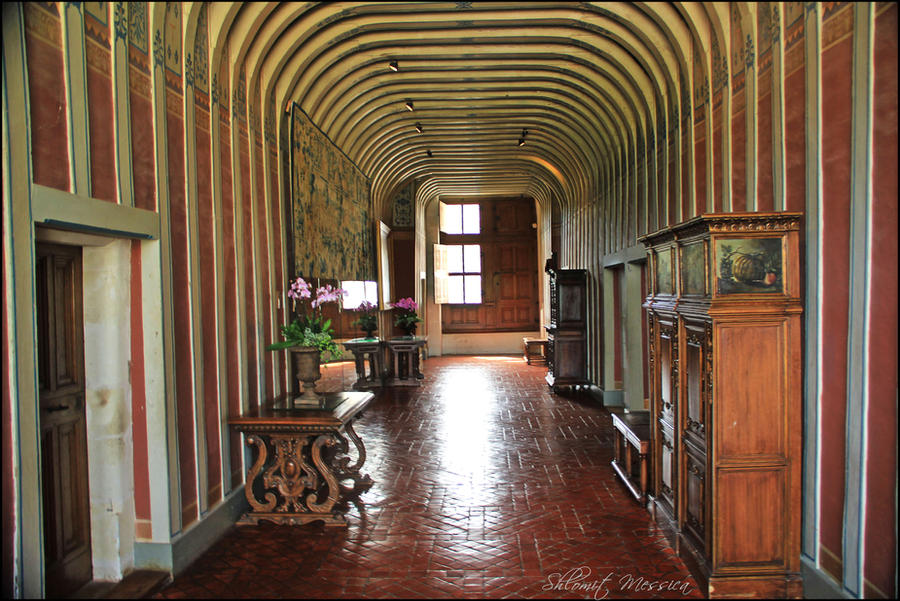 Inside the Chateau of Chenonceau by ShlomitMessica on DeviantArt