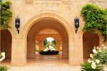 Entrance to the Bahai gardens