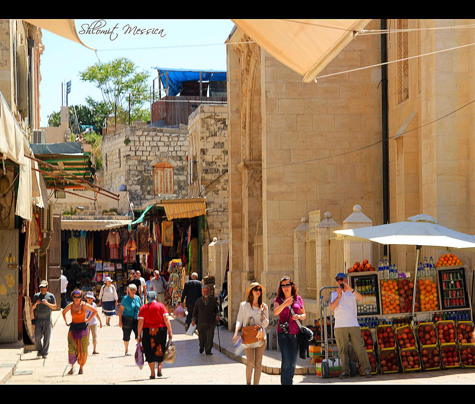 In the old Jerusalem 5 by ShlomitMessica