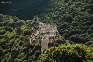 Monfort castle by ShlomitMessica