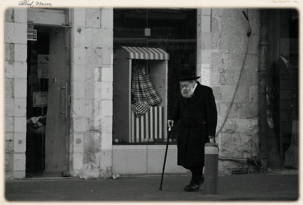 In the streets of Jerusalem 3 by ShlomitMessica