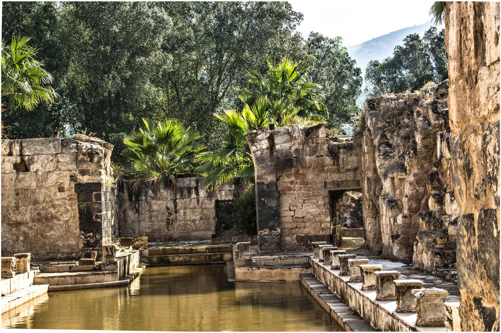 Roman baths of Hamat gader 2 by ShlomitMessica